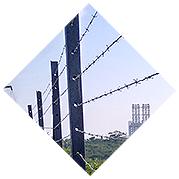 Alambre de púas PVC
